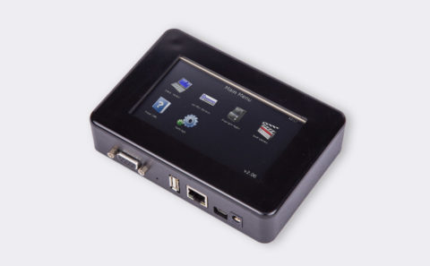 µEZGUI-43-H01 Front Angle View