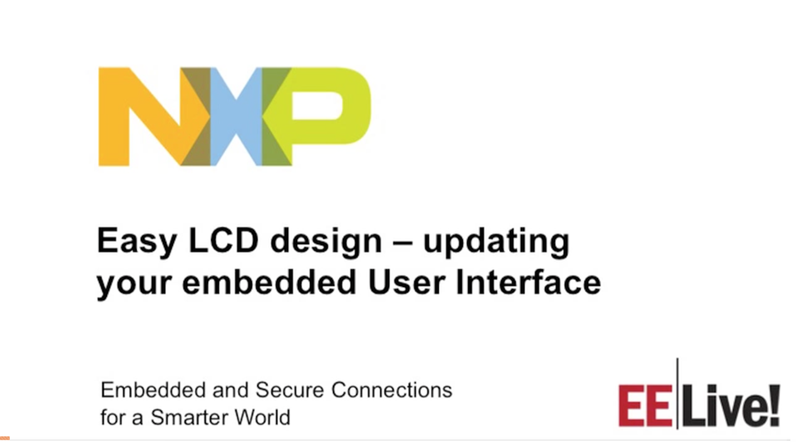 Easy LCD design -- updating your embedded User Interface
