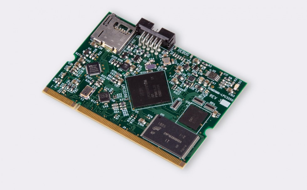 SOMDIMM-LPC3250 Front Angle View 1