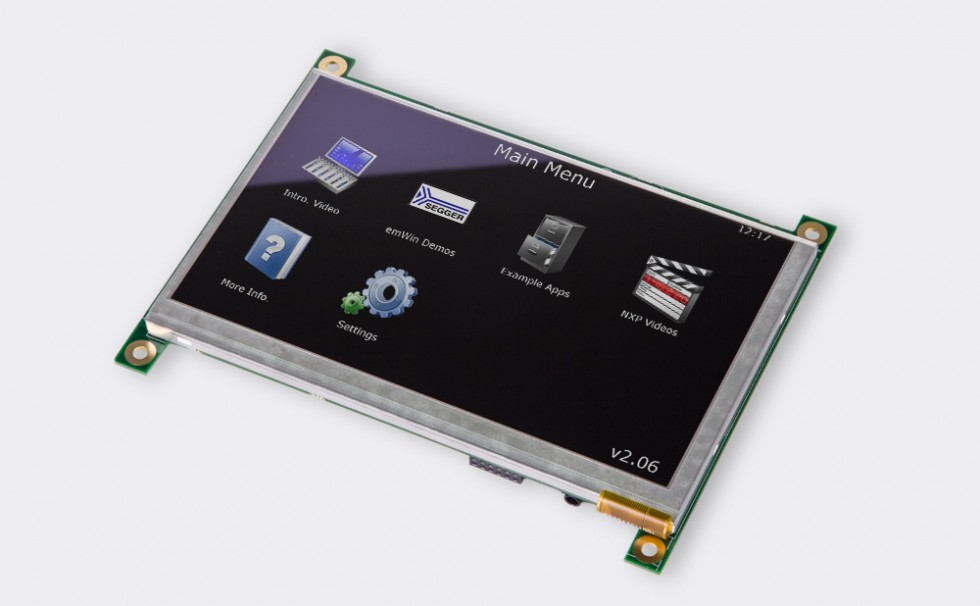 µEZGUI-1788-70WVM Front Angle